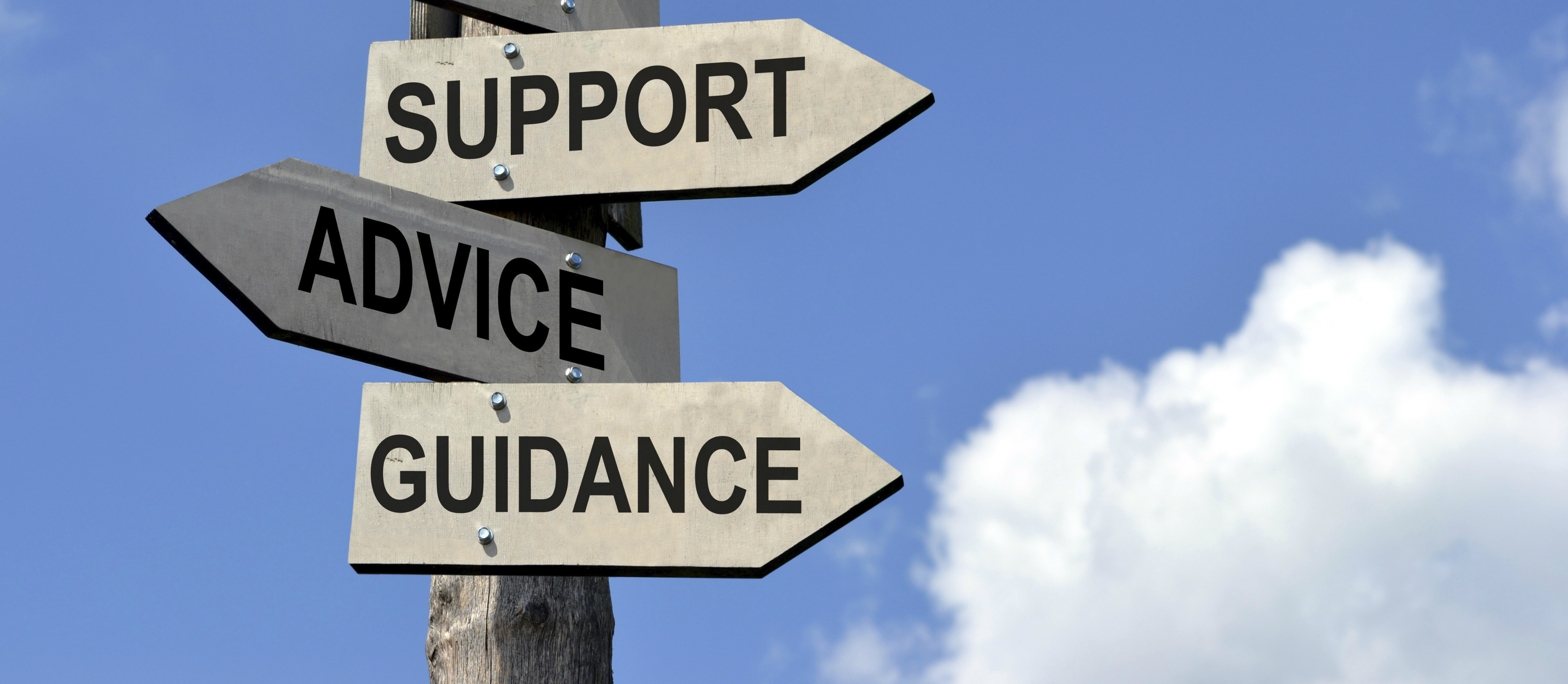 Help-and-support-signpost-banner