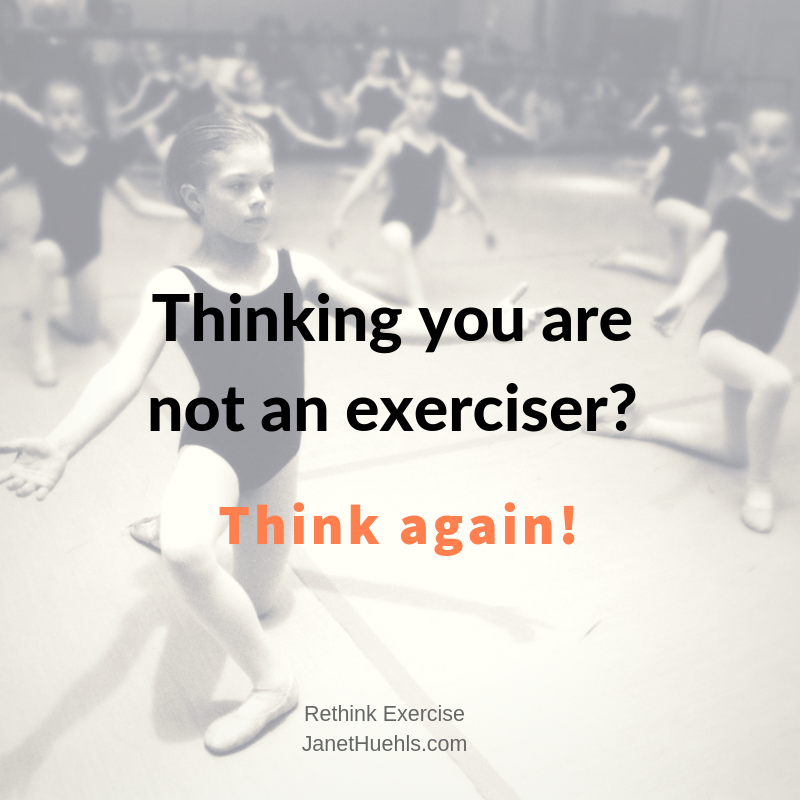 Are younot an exerciser?-4