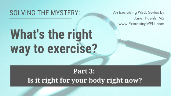 Solving the mystery_ what's the right way to exercise for your body and the real results you want, Part 1 (2)