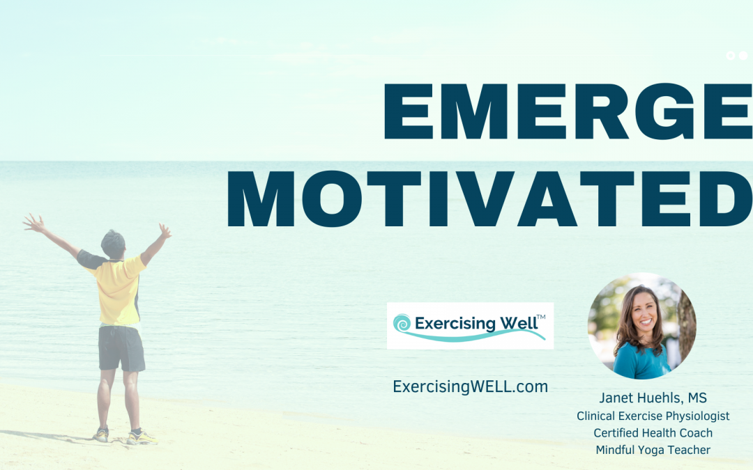 Leave the struggle behind and discover the 'new normal' way to stay motivated for exercise