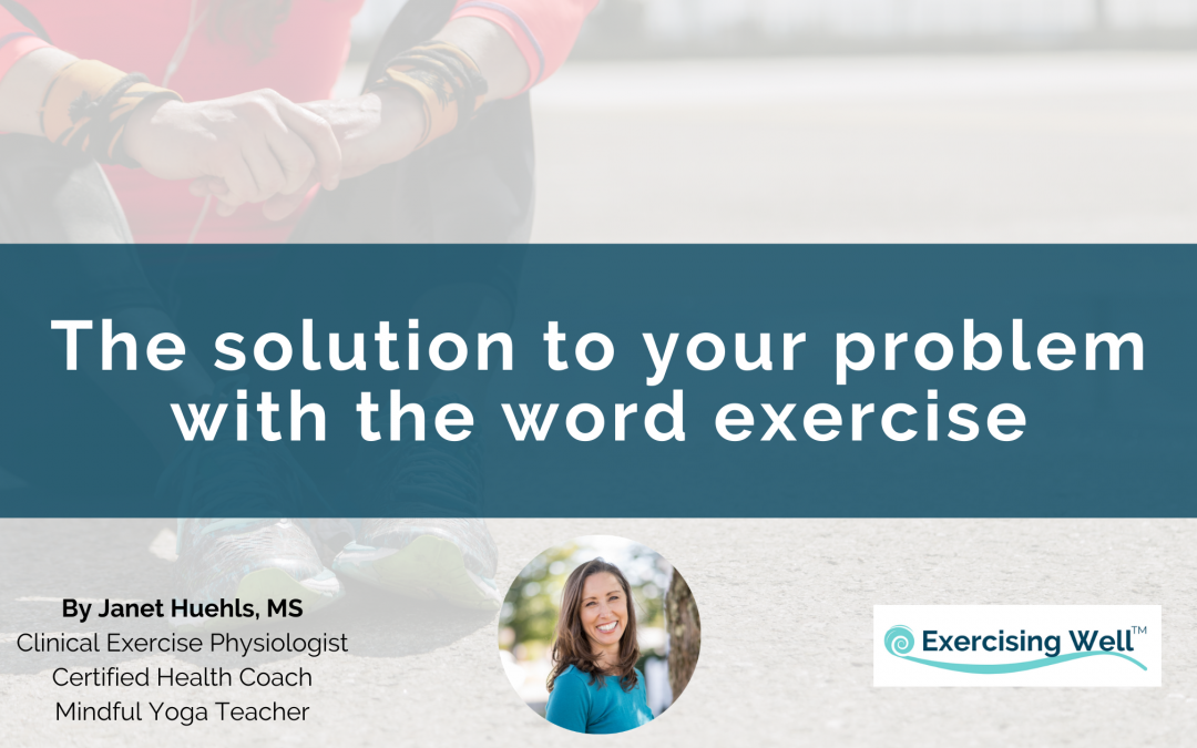 The solution to your problem with the word exercise