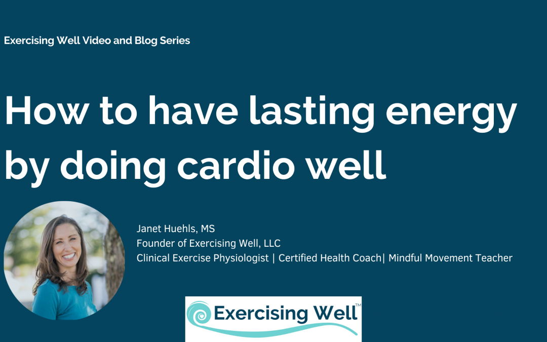How to have lasting energy by doing cardio well